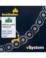 Système de graissage de chaîne Scottoiler vSystem, pour BMW F700GS / F800GS, à partir de 2017
