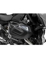 Protection du cylindre en aluminium noir (jeu) pour BMW R1250GS / R1250R / R1250RS / R1250RT