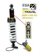 Ressort-amortisseur de suspension Touratech pour BMW F800GS Adventure à partir de 2014 Type : Plug & Travel pour BMW ESA