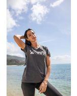 """T-Shirt """"XXX Years"""" pour femme, gris"""