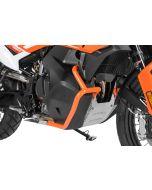 Arceau de protection du réservoir en acier inoxydable, orange pour KTM 890 Adventure/ 890 Adventure R/ 790 Adventure/ 790 Adventure R
