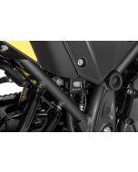 Protection pour réservoir de liquide noir pour Yamaha Tenere 700