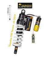 Ressort-amortisseur Touratech Suspension -35mm pour la Yamaha 700 Tenere à partir de 2019 Type Extreme
