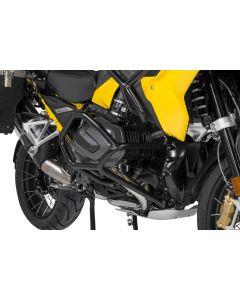 Arceau de protection en acier inoxydable, noir pour BMW R1250GS