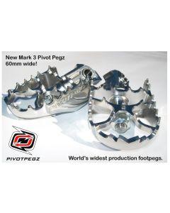 Pivot Pegz - *Mark3* pour Kawasaki Versys 650 toutes á partir de 2006