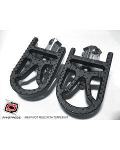 Pivot Pegz Toppers, supports pour repose-pieds articulés Mark4