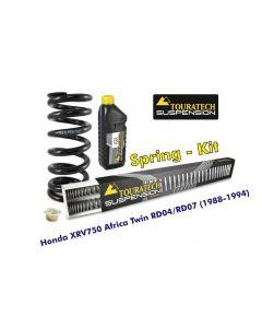 Ressorts de rechange progressifs pour fourche et ressort-amortisseur, Honda XRV750 Africa Twin RD04/RD07 (1988-1994)