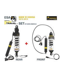 KIT de suspension Plug & Travel-ESA Touratech pour BMW R1200GS, modèles 2010-2012