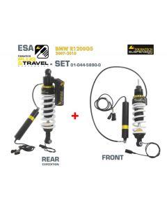 Ressort-amortisseur de suspension Touratech Plug & Travel-ESA Expedition ARRIÈRE pour BMW R1200GS, modèles 2007-2010