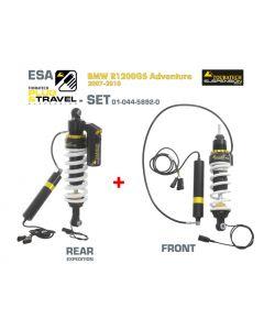 KIT de suspension Touratech Plug & Travel-ESA Expedition pour BMW R1200GS Adventure, modèles 2007-2010