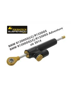 "Touratech Suspension steering damper ""CSC"" for BMW R1200GS(LC)/R1250GS/BMW R1200GS(LC)/R1250GS Adventure 2014 onwards, with mounting kit"