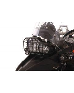 Protection de phare en acier BMW F800GS/F800GS Adventure/F700GS/F650GS(Twin)/F800R jusqu'a 2014 *OFFROAD USE ONLY*