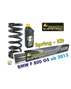 Ressorts de rechange progressifs Hyperpro pour fourche et ressort-amortisseur, BMW F800GS / Adventure *à partir de 2013*