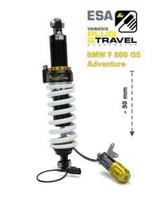 Touratech Suspension, abaissement (-50mm)  pour BMW F800GS Adventure à partir de 2014 Type : Plug & Travel pour BMW ESA