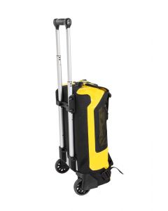 Travelbag Duffle RG with wheels, 34 litres, yellow, by Touratech Waterproof