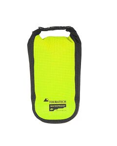 Pochette complémentaire High Visibility, taille L, 3,5 litres, jaune/noir, by Touratech Waterproof made by ORTLIEB
