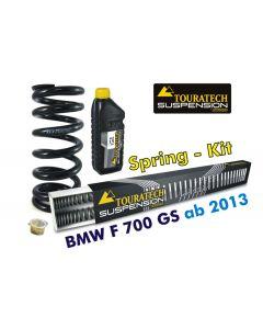 Ressorts de rechange progressifs Hyperpro pour fourche et ressort-amortisseur, BMW F700GS *à partir de 2013*