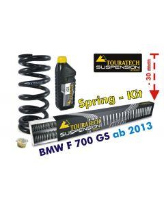 Abaissement de -30mm BMW F700GS à partir de 2013 *ressort de rechange*