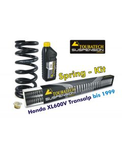 Ressorts de rechange progressifs Hyperpro pour fourche et ressort-amortisseur, Honda XL600V Transalp 1989-2000 *ressort de rechange*