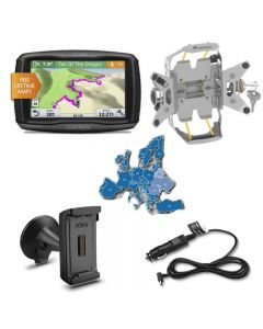 Garmin zumo 595 LM EU Bike & Car Set, argent
