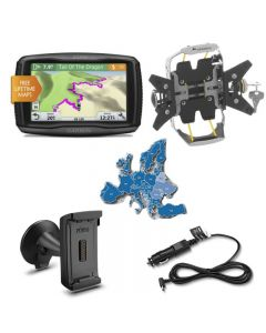 Garmin zumo 595 LM EU Bike & Car Set, noir