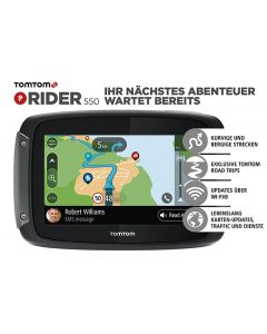 TomTom Rider 550 World, Lifetime cartes mondiales