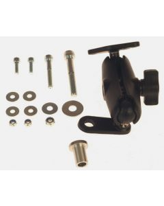 RAM Mount ball-joint adapter with screw-on ball