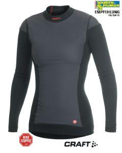 Chemise manches longues Active Extreme Windstopper *Dame*, taille XL Couleur noir