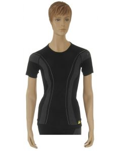 "T-shirt ""Allroad"", femme, noir, taille M"
