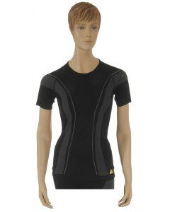 "T-shirt ""Allroad"", femme, noir, taille L"