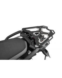 Porte-bagages en aluminium, noir pour BMW F850GS / F750GS