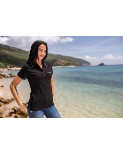 """Pull polo """"Touratech"""", femme"""