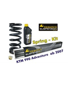 Ressorts de rechange progressifs Hyperpro pour fourche et ressort-amortisseur, KTM 990 Adventure *à partir de 2007*