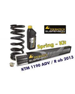 Ressorts de rechange progressifs pour fourche et ressort-amortisseur, KTM 1190 Adventure R à partir de 2013 (avec ABS sans EDS)