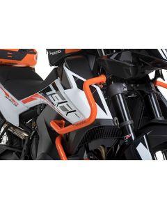 Arceau de protection du carénage en acier inoxydable, orange pour KTM 790 Adventure/ 790 Adventure R