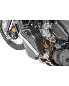 Boîte à outils avec arceau de protection moteur DCT - complet - inox pour Honda CRF1100L Africa Twin / CRF1100L Adventure Sports