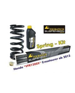 Ressorts de rechange progressifs Hyperpro pour fourche et ressort-amortisseur, Honda VFR1200X Crosstourer *à partir de 2012*