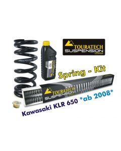 Ressorts de rechange progressifs Hyperpro pour fourche et ressort-amortisseur, Kawasaki KLR650 à partir de 2008 *ressort de rechange*