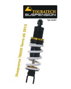 Ressort-amortisseur de suspension Touratech pour Husqvarna TR650 Terra à partir de 2013 Type Level1/Explore
