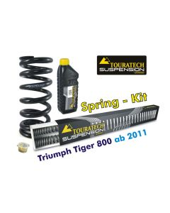Progressive replacement springs for fork and shock absorber, Triumph Tiger 800 (2011-2014)*replacement springs*