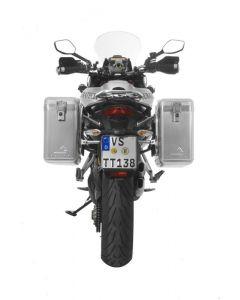 ZEGA Mundo aluminium pannier system for Ducati Multistrada up to 2014