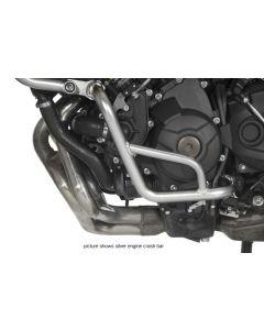 Arceau de protection moteur, inox noir, pour Yamaha MT-09 Tracer
