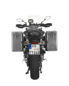 ZEGA Mundo aluminium pannier system for Yamaha MT-09 Tracer (2015-2017)