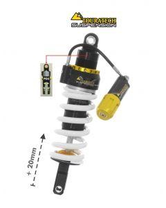 Ressort-amortisseur Touratech Suspension pour la Honda CRF1100L Africa Twin à partir de 2020 Type Level2/PDS Haut +20mm