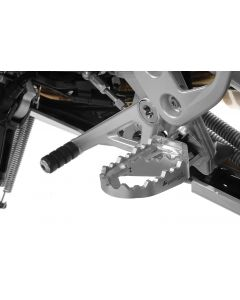 *Works* long-distance foot pegs for BMW R1250GS/ R1250GS Adventure/ R1200GS from 2013/ R1200GS Adventure from 2014/ F850GS/ F850GS Adventure/ F750GS