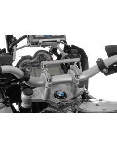 Adaptateur GPS BMW R1250GS/ R1250GS Adventure/ R1200GS à partir de 2013/ R1200GS Adventure à partir de 2014 Adapteur pour montage GPS Support pour systèmes de navigation