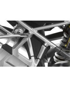 Passenger footpeg splash guard (set) for BMW R1250GS/ R1250GS Adventure/ R1200GS (LC) / R1200GS Adventure (LC)