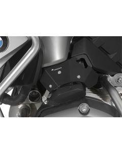 Protection pour les clapets d'étranglement (set), noir, pour BMW R1200GS (LC) (2013-2016)