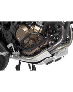 Arceau de protection moteur, inox noir, pour Honda CRF1000L Africa Twin