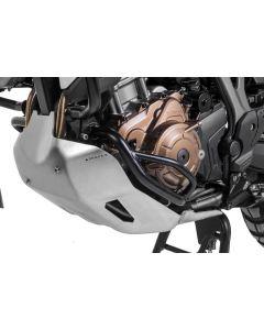 Arceau de protection moteur, inox noir, pour Honda CRF1000L Africa Twin avec DCT